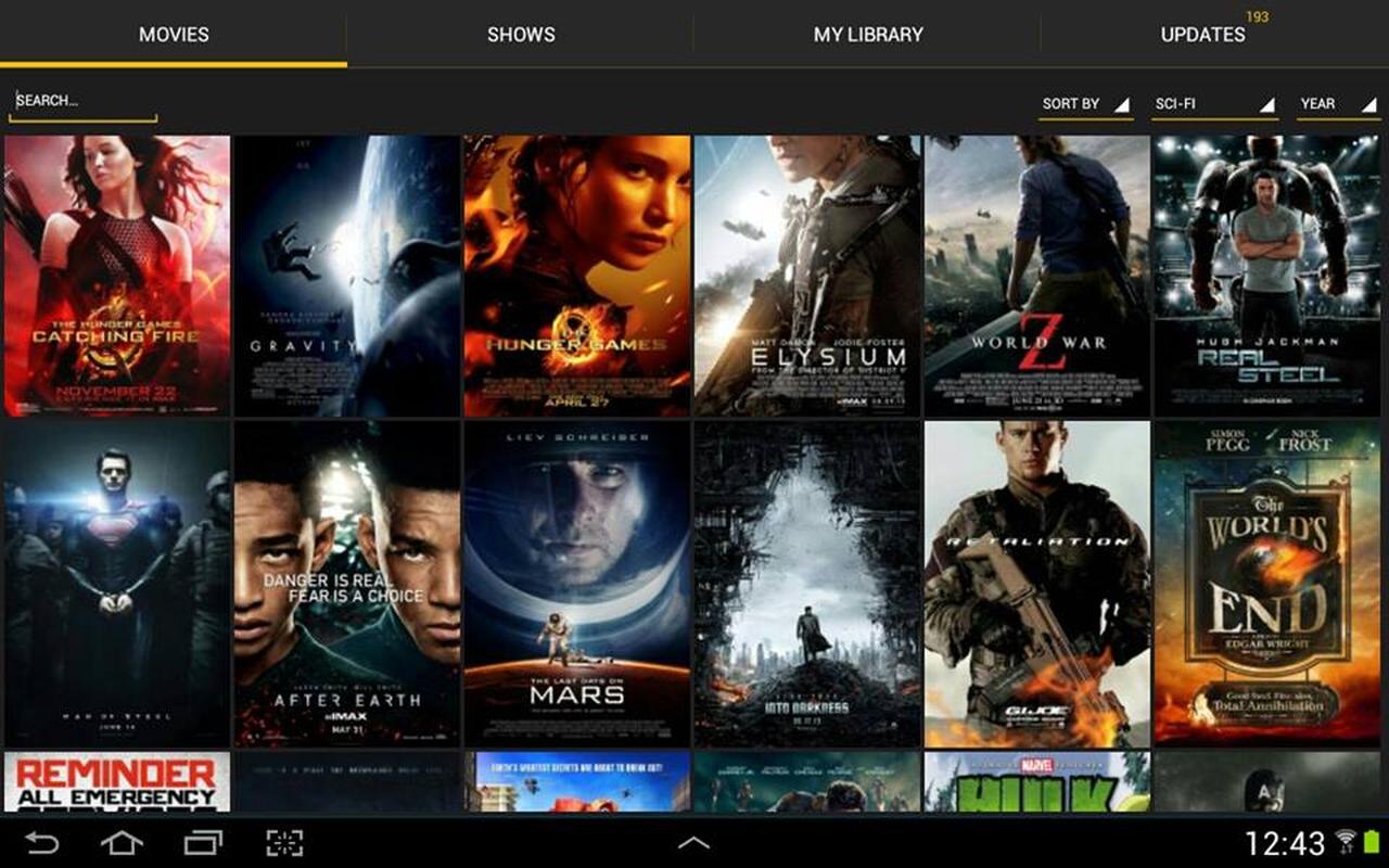 application pour télécharger des films
